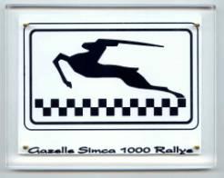 logo simca racing team gazelle simca. Black Bedroom Furniture Sets. Home Design Ideas